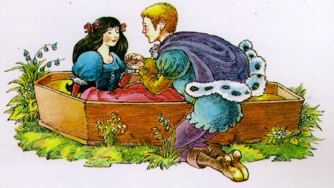 Snow White's Awakening !